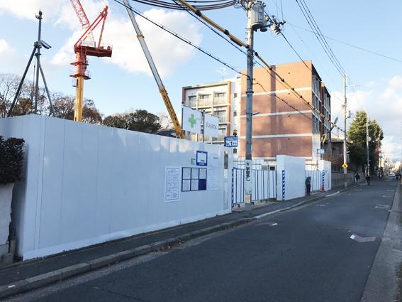 京阪電鉄不動産『京都御所 東』新築分譲マンション計画地