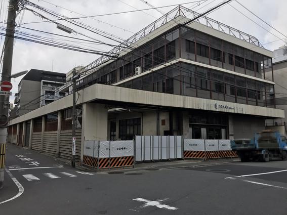 四条・西洞院通の気になる土地!! トーハン 京都支店 解体工事