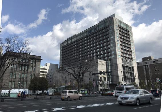 京都のホテル・外国人宿泊客が前年対比40.5%増!!