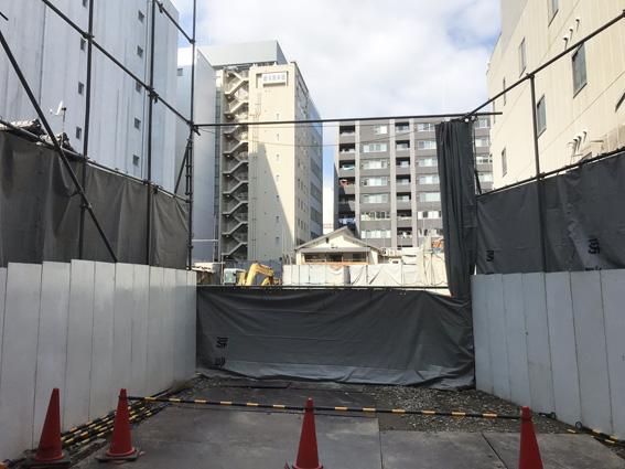 烏丸錦東入る・京都大丸駐車場北側の土地は何になる???