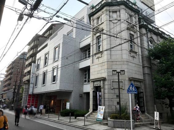 三条通柳馬場角に『京王電鉄』の建築看板が!!