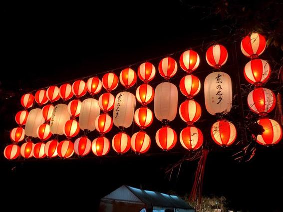 9回目の『京の七夕』開幕!!  堀川遊歩道会場と『ゼロホーム』