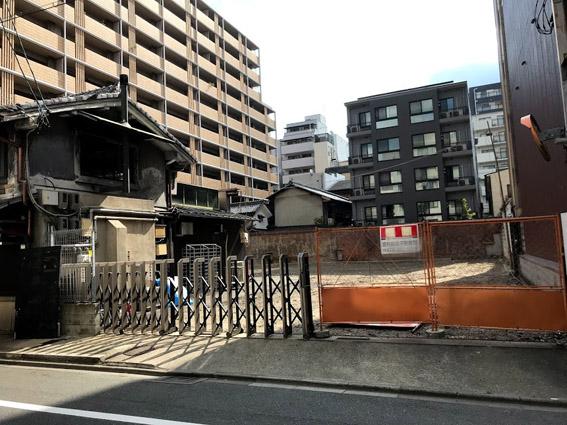 三条堺町通上ルの土地と『あるとれたんと/altrettanto』移転