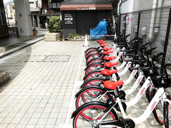 広がるシェアサイクルビジネス。京滋に企業進出!!