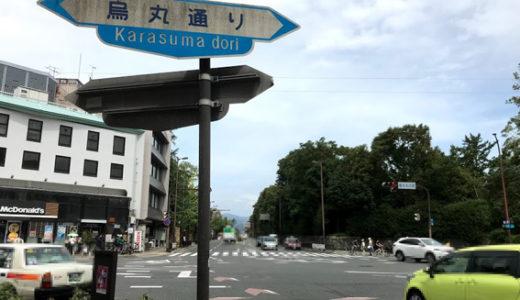 『京都御所西』烏丸通に面した売店舗!!  発見!!