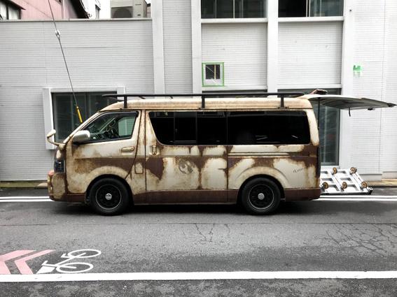 新町通に『グローバル・エルシード』のホテル3計画!! & 錆び付いたワゴン