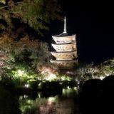 マーベラスな東寺のライトアップ