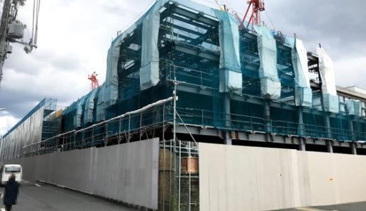 『三井不動産(仮称)京都二条ホテルプロジェクト』 & 『エースホテル京都』 現況