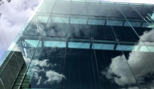 京都市役所が整備工事中・西庁舎が見えてきました