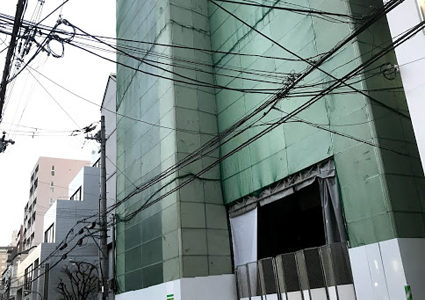 四条東洞院通下るに『東京建物』が