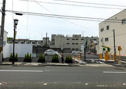 東山区・三十三間堂前のホテル計画地の現状