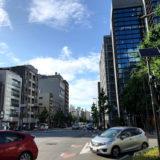 河原町二条の『Kiwakoto本店』と『サンフロンティア不動産』のホテル計画地