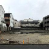 四条通の大和学園跡地と千本通の日本ホールディングスの更地
