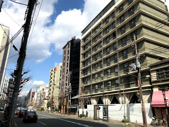 エースホテル京都とフォションホテル京都