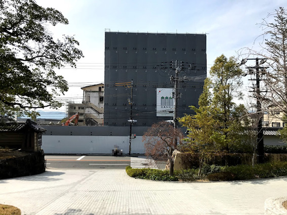 『ホテル東山閣』只今解体中!! インターコンチネンタル・ホテル・グループの高級ホテルブランド「SIX SENSES HOTELS RESORT SPAS」に!