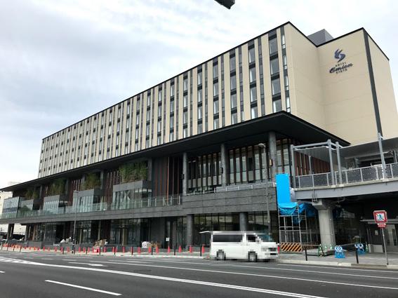 JR梅小路京都西駅・京都中央卸売市場直結『ホテル エミオン 京都』開業が7/27に延期に
