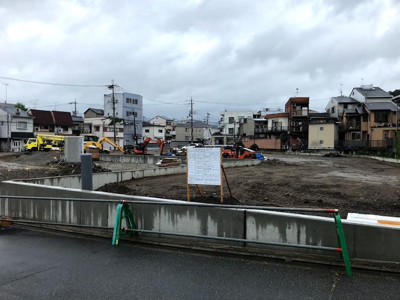 京都市右京区太秦・エルハウジングのマンション計画地2