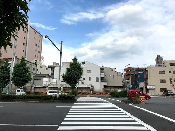 烏丸五条と堀川五条と日本エスコン