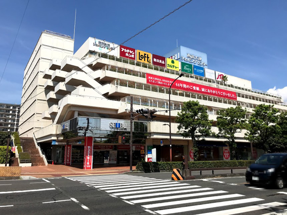滋賀県大津市、今月末閉店の西武大津店 跡地は長谷工コーポレーションによるマンション1100戸計画